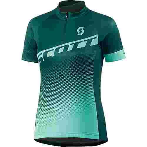 SCOTT Endurance 40 S/SL Fahrradtrikot Damen grün/hellgrün