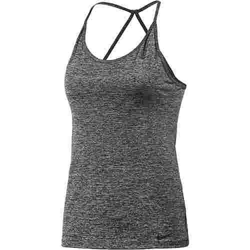 Nike Tuned Cool Funktionstank Damen schwarz/melange