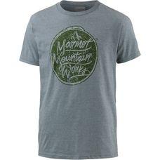 Marmot Turf Printshirt Herren grau