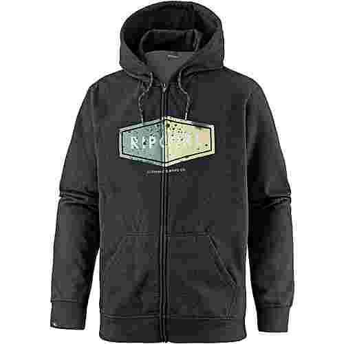rip curl diamond sweatjacke herren schwarz im online shop. Black Bedroom Furniture Sets. Home Design Ideas