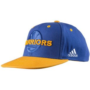 adidas Golden State Warriors Cap Kinder GOLSLD/BLUSLD/BLACK