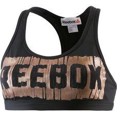 Reebok studio favorites Sport-BH Damen BLACK