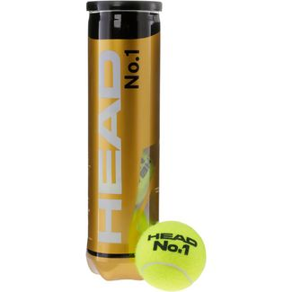 HEAD No.1 Tennisball gelb