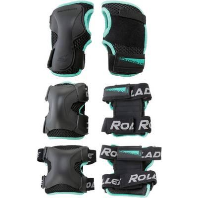 ROLLERBLADE X-GEAR W 3 PACK Protektorenset Damen schwarz
