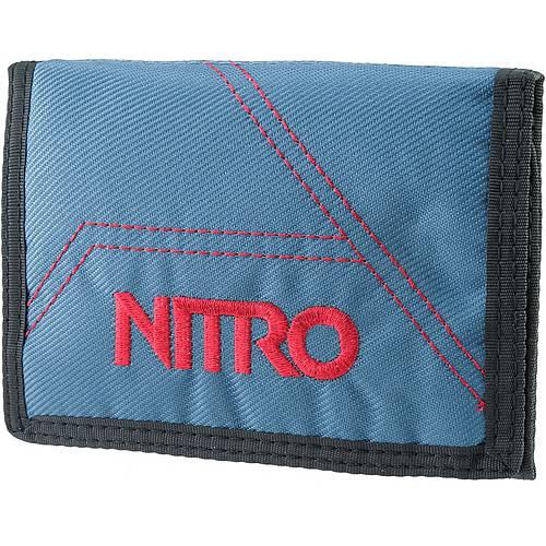 Nitro Snowboards Wallet Geldbeutel blue steel