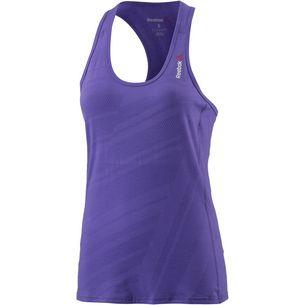 Reebok One series BURNOUT Tanktop Damen Ultimate purple