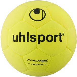 Uhlsport Themis Indoor Fußball gelb/schwarz/rot