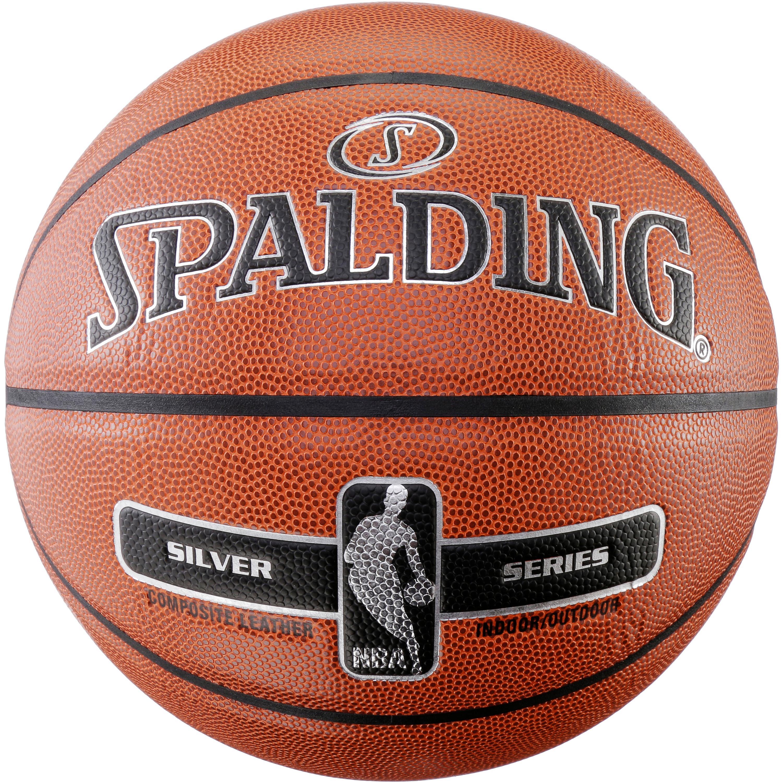 Spalding NBA SILVER Basketball