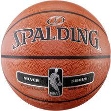Spalding NBA SILVER Basketball orange