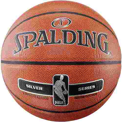 Spalding NBA SILVER Basketball orange