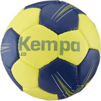 Kempa LEO Handball deep blue/lime yellow black/lime yellow/red