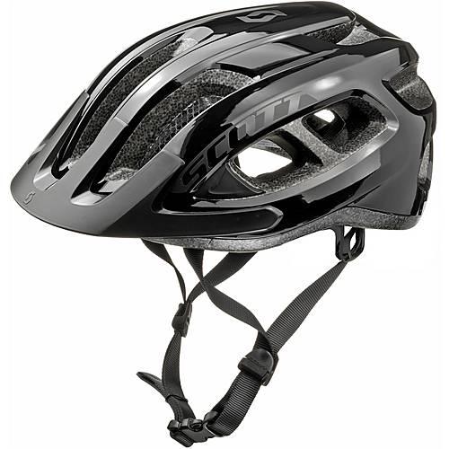 SCOTT Supra Fahrradhelm schwarz