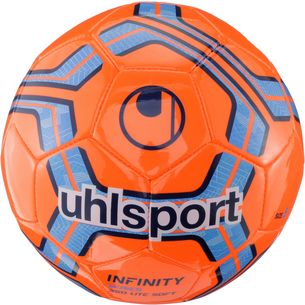 Uhlsport INFINITY 350 LITE SOFT Fußball fluo red/navy/royal