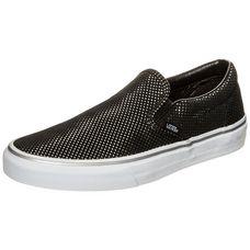 Vans Classic Slip-On Metallic Dots Sneaker Damen schwarz / silber