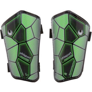 Uhlsport SUPER LITE Schienbeinschoner fluo green/black