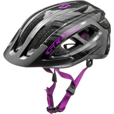 SCOTT Supra Fahrradhelm schwarz/lila