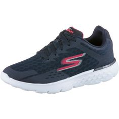 Skechers GO RUN 400 Fitnessschuhe Damen Navy/Hot Pink