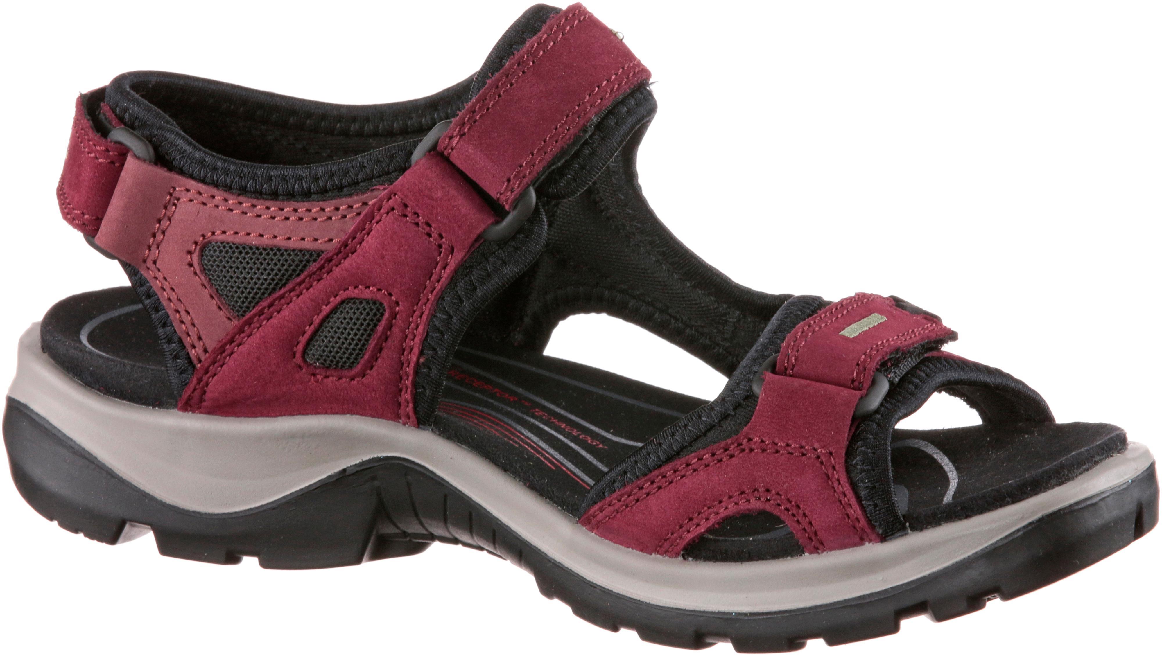 ECCO Offroad Outdoorsandalen Damen rot schwarz im Online Shop von von von SportScheck kaufen Gute Qualität beliebte Schuhe 9c2cc9