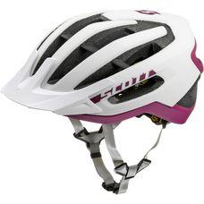 SCOTT Fuga Plus Fahrradhelm weiß/lila