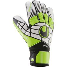 Uhlsport ELIMINATOR SOFT GRAPHIT Torwarthandschuhe Herren black/green/white
