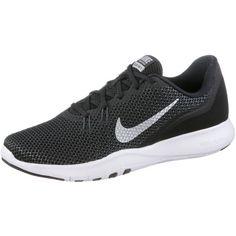 Nike Flex Trainer 7 Fitnessschuhe Damen schwarz-silber