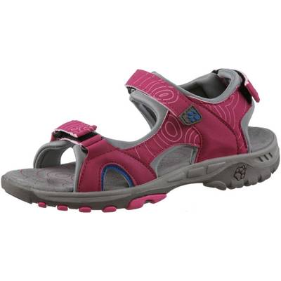 Jack Wolfskin Lakewood Cruise Outdoorsandalen Kinder pink raspberry