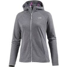 The North Face Tasaina Sweatjacke Damen grau