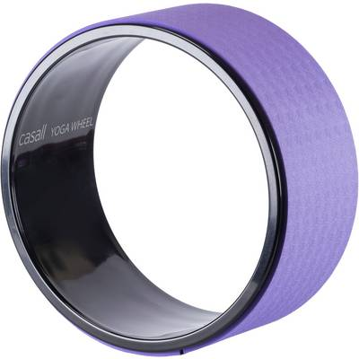 Casall Yoga Wheel Fitnessgerät schwarz/lila