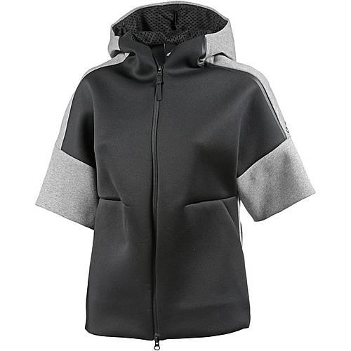 Adidas ZNE Hoodie Damen schwarzgrau im Online Shop von