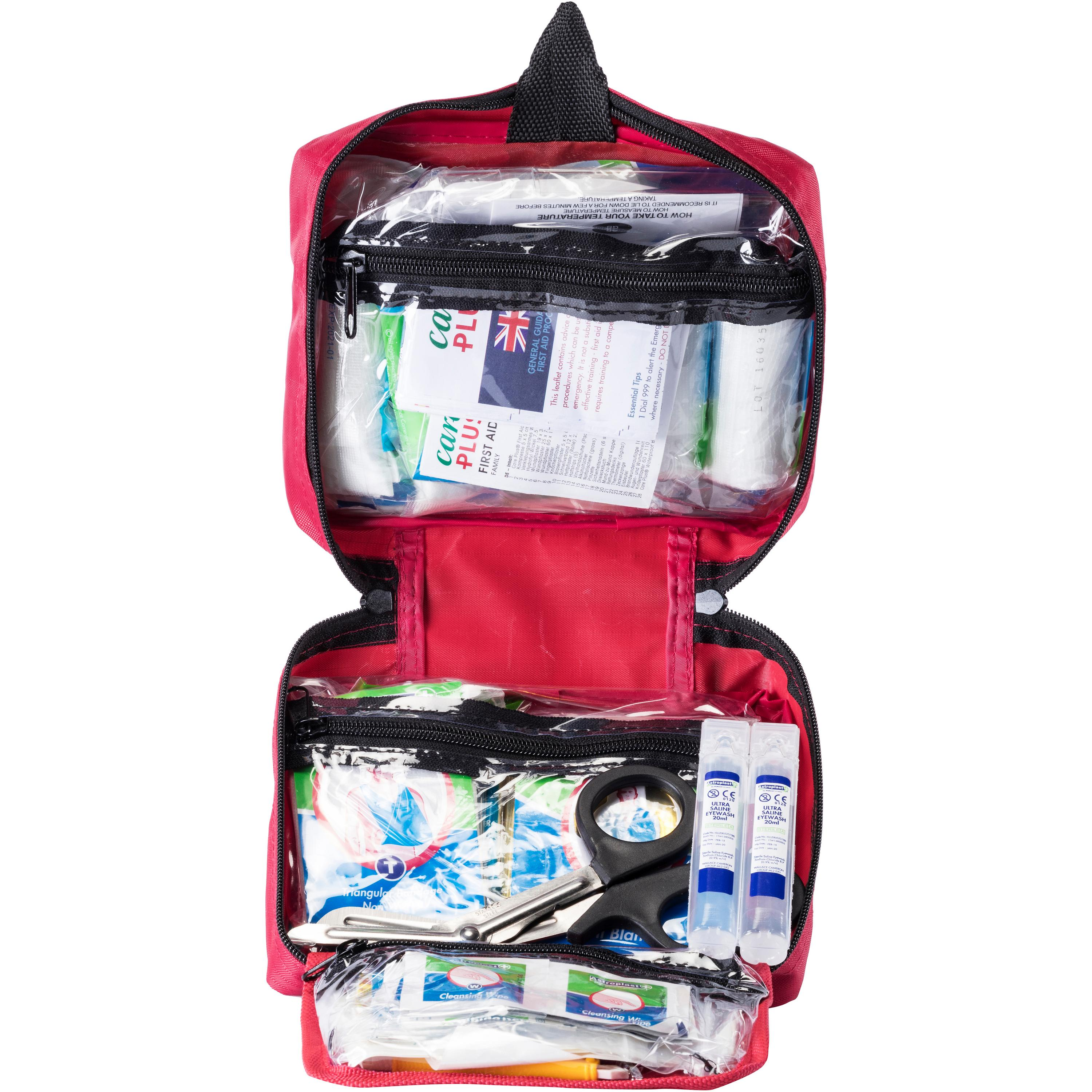 Image of Care Plus First Aid Kit Family Erste Hilfe Set