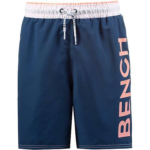 Bench Boardshorts Kinder blau/rot
