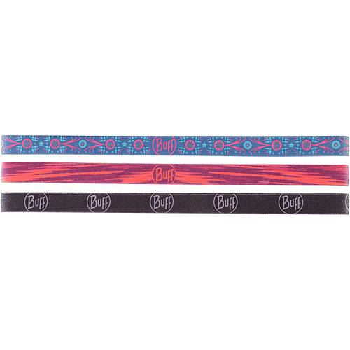 BUFF Hairband Haarband schwarz-schwarz-rot-bau