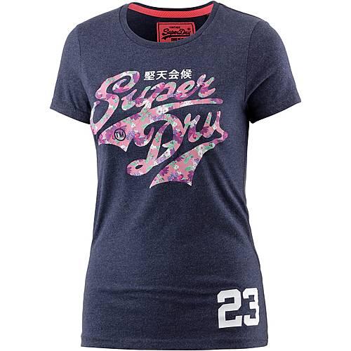 Superdry T-Shirt Damen navy