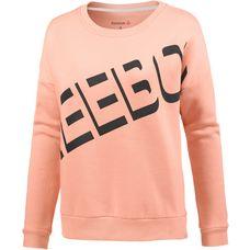 Reebok Workout Ready Warm Sweatshirt Damen peach twist