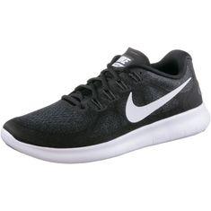 Nike Free RN 2 Laufschuhe Herren schwarz/weiß