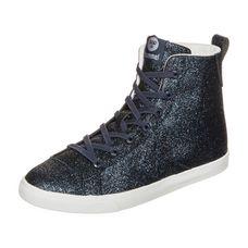 hummel Strada Glitter JR Sneaker Kinder dunkelblau / weiß