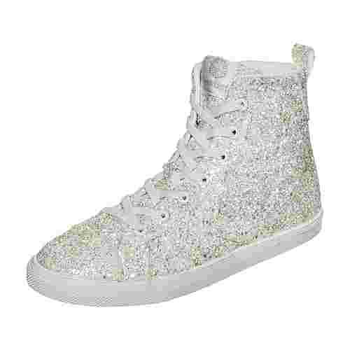 hummel Strada Sparkle JR Sneaker Kinder weiß