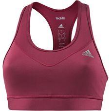 adidas Techfit Sport-BH Damen mystery ruby/matte silver