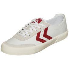 hummel Stockholm Low Sneaker Herren weiß / rot