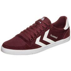 hummel Slimmer Stadil Tonal Low Sneaker bordeaux / weiß