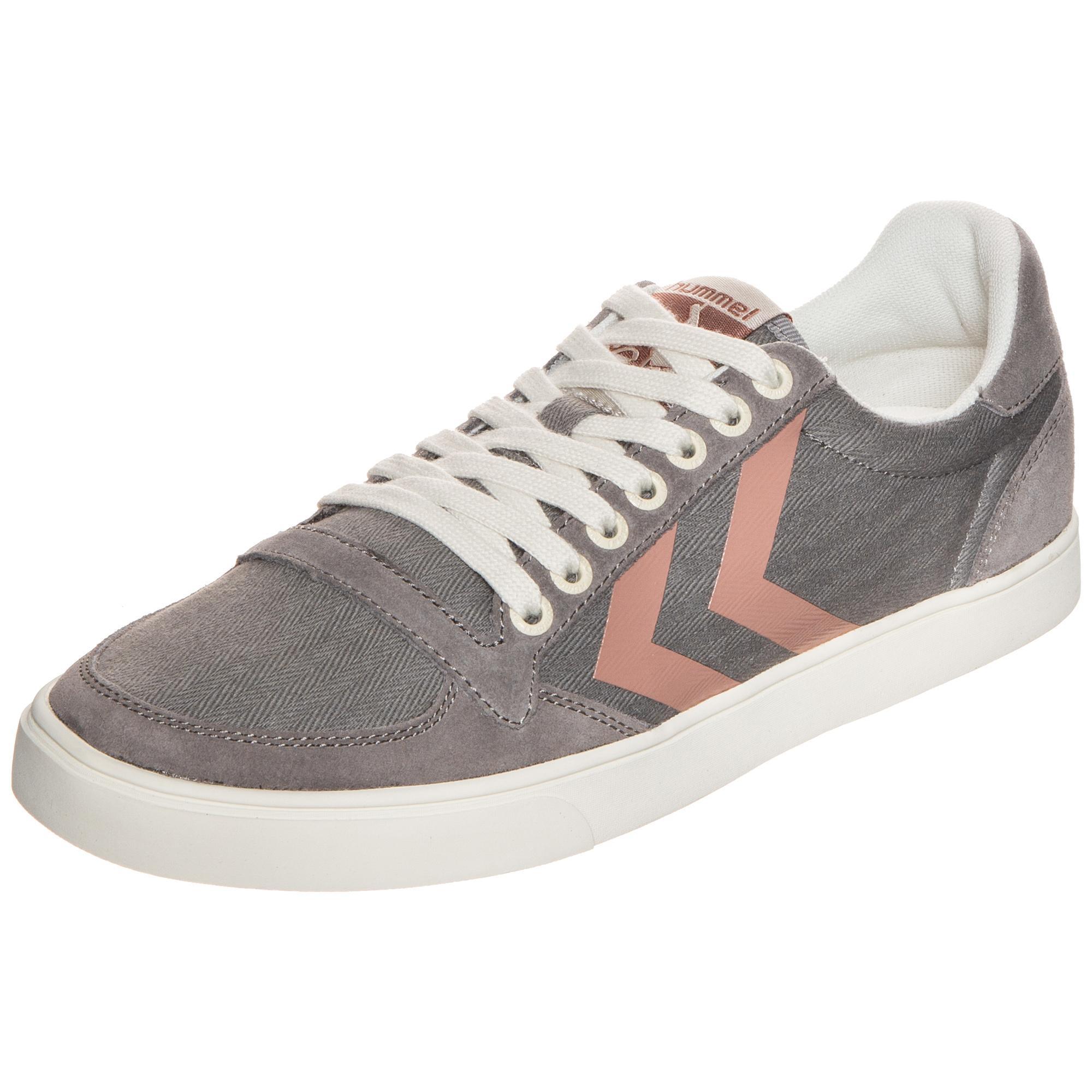 788f0a07db3a Hummel Slimmer Stadil Herringbone Niedrig Sneaker Damen grau Shop im Online  Shop grau von SportScheck kaufen Gute Qualität beliebte Schuhe d834fa