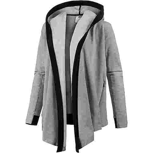 adidas Wrap Me Up Sweatjacke Damen medium grey heather