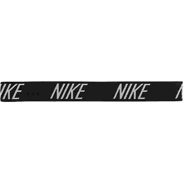Nike Logo Haarband Damen BLACK/WHITE