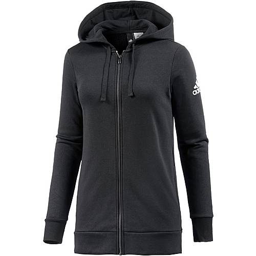 adidas Essentials Sweatjacke Damen black