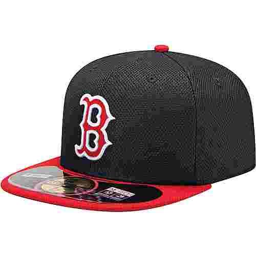 New Era Boston Red Sox MLB BP 5950 Cap schwarz/rot/weiß