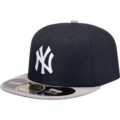 New Era NY Yankees MLB BP 5950 Cap schwarz-weiß