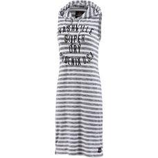 Superdry Maxikleid Damen weiß/grau