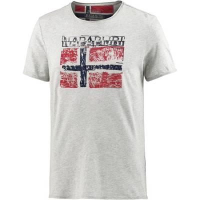 Napapijri Surl Printshirt Herren grau