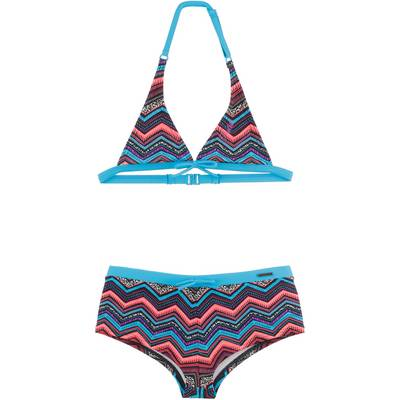 Protest Triangelbikini Kinder Dark Earth