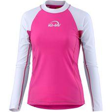 iQ Surf Shirt Damen pink/weiß